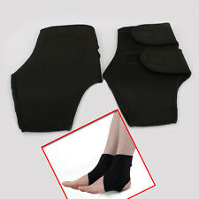 2x Magnetic Therapy Ankle Brace Support Spontaneous Heating Protection Belt New