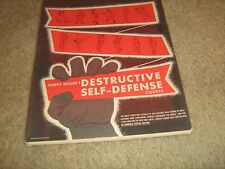Joe Weider Bodybuilding 12 Destructive Self Defense Course Lessons Complete Set