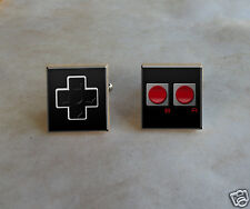 Video Game Controller Cufflinks Scrabble Cuff Links Charms - Vintage Retro Art