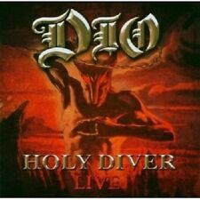 "DIO ""HOLY DIVER LIVE"" 2 CD ------17 TRACKS------ NEU"