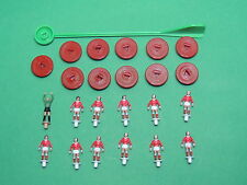 SUBBUTEO Équipe Angleterre rouge - England 719 complète ancien du set Euro 96