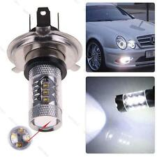 White 80W H4 9003 HB2 CREE LED DRL 12V Fog Light Bulb #G Headlight High Low Beam
