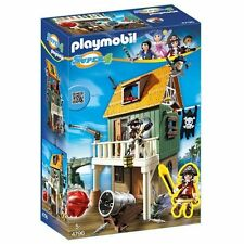 NEW Playmobil Super 4 Camouflage Pirate Fort with Ruby Building Kit 4796