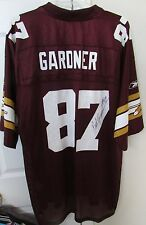 NFL Washington Redskins 70th Anniversary Rod Gardner #87 Signed Jersey XL Reebok