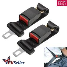 2pcs 36cm Car Auto Safety Seat Belt Seatbelt Extension Extender Buckle Guard Kid