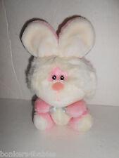 VIntage 24K Polar Puff BLUSHER BUNNY Item 7438 Plush Stuffed Pink Rabbit Toy GUC