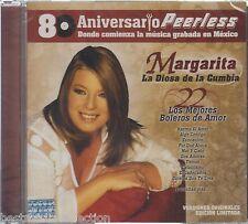Margarita La Diosa De La Cumbia CD NEW 22 Boleros 80 Aniversario PEERLESS SEALED