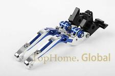 Blue CNC Foldable&Extendable Brake Clutch Levers For Yamaha YZF R1 2009-2013