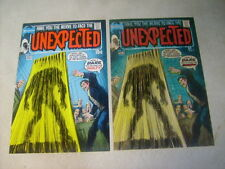 UNEXPECTED #125 COVER ART, original APPROVAL COVER PROOF and PAINTING, 1970's