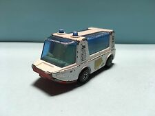 Diecast Matchbox Stretcha Fetcha Ambulance 1971 White Wear & Tear Good Condition