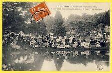 cpa Belle Animation 37 - TOURS (Indre et Loire) Jour de FÊTE NATIONALE en 1908