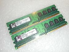 1GB (2 x 512MB) Kingston Desktop RAM Memory - DDR2 667MHz THA01  KTH-XW4300