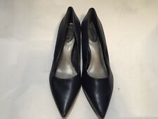 Womens Trotters Paulina Shoes Navy Blue Pointed Toe Heels Size 5M