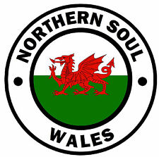 NORTHERN SOUL - WALES - CAR TAX DISC HOLDER - REUSABLE - BRAND NEW