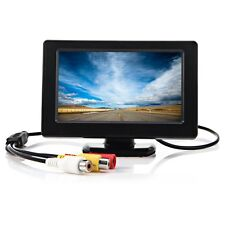"4.3"" TFT LCD Car Parking Rear View Monitor Camera Cam Rotatable Screen DVD CUS"