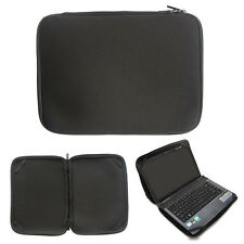 "17"" Neoprene Black Laptop Bag Sleeve Case Cover For 17.3inch Dell Alienware M17x"