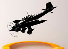 Airplane Aircraft Wall Decal Vinyl Sticker Aviation Interior Art Decor (19air4)