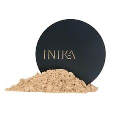 2 X New Inika Mineral Makeup Foundation Strength SPF15