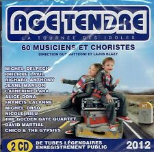 CD - AGE TENDRE - 2012