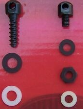 """GENUINE Uncle Mike's SLING SWIVEL STUD Combo 3/4"""" & 1/4"""" Fits Mossberg 500"""