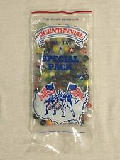 SEALED 1776-1976 Champion Agate Bicentennial Special Pack Glass Marbles USA