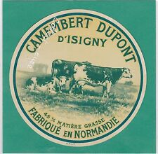 J1179 FROMAGE CAMEMBERT DUPONT D ISIGNY CALVADOS