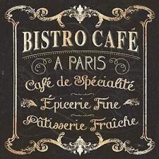 Parisian Sign Paris Bistro Cafe by Pela Studio Fine Art Print Home Decor 792732