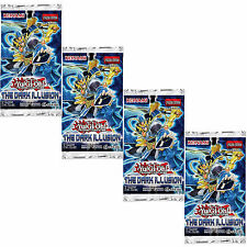 Yu-Gi-Oh Cards: The Dark Illusion 4 Sealed Booster Packs - Metalfoes + Magicians