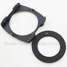 58mm Metal Ring Adapter + Wide Angle Filter Holder For Cokin P Series UK Seller