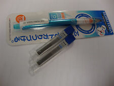 UNI-BALL KURU TOGA MECHANICAL PENCIL BLUE 0.5MM HB M5-450T +24 Nano Leads 0.5 HB