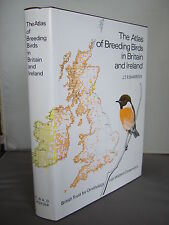 The Atlas of Breeding Birds in Britain and Ireland by J T R Sharrock HB DJ 1987