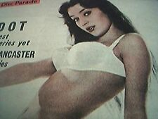 newspaper cutting 1956 lucette marimar cover girl