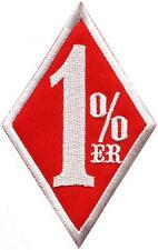One Percenter 1%er biker outlaw motorcycle gang applique iron-on patch S-1179