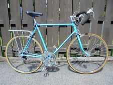73 SCHWINN CONTINENTAL 10 SPEED BICYCLE OPAQUE BLUE 61cm FRAME DETAILED READY