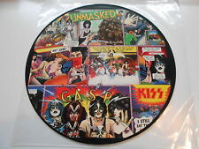 "KISS LP "" UNMASKED "" Picture Disc -  Phonogram Limited Edition"