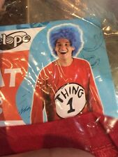 DR SEUSS THING 1 W WIG Small/Medium Costume