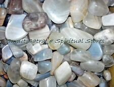 Moonstone Mix Color tumbles - 100Grams- Healing Crystal / Stone | Exclusive Deal