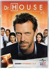Dr HOUSE - Intégrale kiosque TF1 Video - Saison 1 - dvd 1 - Episodes 1 à 4
