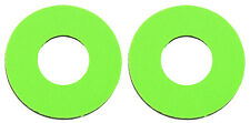 Flite old school BMX bicycle grip foam donuts - NEON GREEN *MADE IN USA*