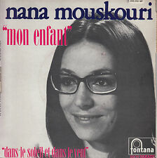 45TRS VINYL 7''/ FRENCH SP NANA MOUSKOURI / MON  ENFANT