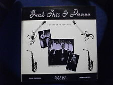 GRAB THIS AND DANCE Vol. 21 LP - VARIOUS ARTISTS