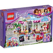 LEGO FRIENDS 41119 IL CUPCAKE CAFE  DI HEARTLAKE      NUOVO