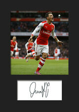 Mesut Ozil - Arsenal Signed Photo A5 Mounted Print - FREE DELIVERY