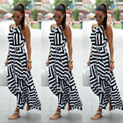 Women Sexy Summer Dress Maxi Long Evening Party Beach Dress Sundress Size 6-16