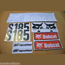 S185 Decals S185 Stickers Bobcat Skid Steer loader DECAL SET Kit