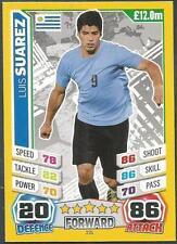 TOPPS MATCH ATTAX  BRAZIL 2014 WORLD CUP- #231-URUGUAY-LUIS SUAREZ