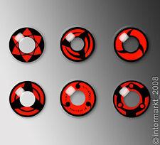 Sharingan Anime Crazy Farbige Kontaktlinsen: verschiedene Motive +Behälter