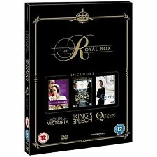 The Royal Collection Box The King's Speech 3 Disc Set DVD New
