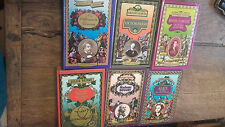 6 livres collection Grandes oeuvres  Madame Bovary Alice au pays des merveilles