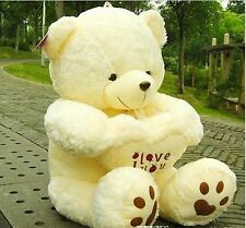 50cm Cute Giant large huge big teddy bear soft plush kid toy  Birthday gift